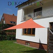 LUXUS Terrassen Sonnensegel der ExtraKlasse 3,75m Terra wasserdicht Regenschutz