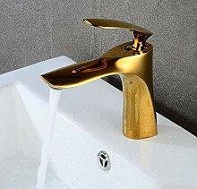 Luxus Überzug Wasserhahn Wasserhahn Gold Heißen
