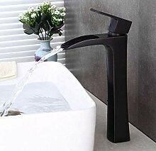 Luxus Überzug Wasserhahn Wasserhahn Schwarz