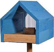 Luxus-Vogelhaus 46603e Eiche-Vogelfutterhaus mit