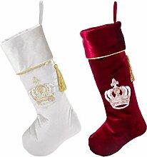 Luxus-Weihnachten, Berry, Rot und Silber, Samt,
