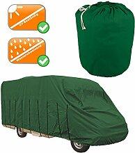 LUXUS Wohnmobil Garage 6,5-7,0 m Reisemobil Abdeckung, grün