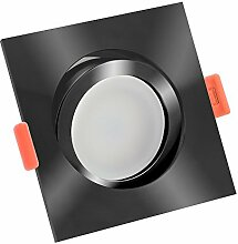 LUXVENUM® | 10x dimmbare, ultra flache (25mm) LED