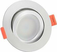 LUXVENUM®   10x dimmbare, ultra flache (25mm) LED