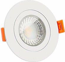 LUXVENUM® | 230V Bad LED-Einbaustrahler IP44 | 7W