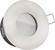 LUXVENUM® | 230V Bad LED Einbaustrahler IP65 | 7W