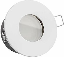 LUXVENUM®   230V Bad LED Einbaustrahler IP65   7W