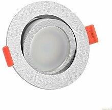 LUXVENUM® | 5x dimmbare, ultra flache (25mm) LED