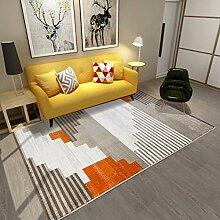 LUYIASI Teppich mit geometrischen Mustern im