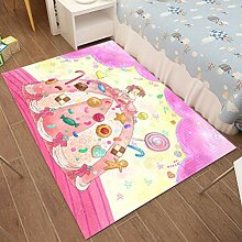 Luyiasi Teppich, waschbar, für Kinderzimmer,