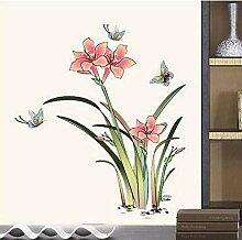 Luzhenyi Diy Blume Fliesen Aufkleber Badezimmer