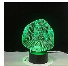 lvabc Scorpion Acryl 3D LED Tischlampe 7 Farben
