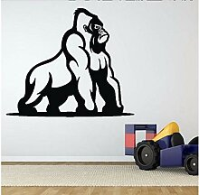Lvabc Wilde Gorilla Ape Affe Wandaufkleber Für