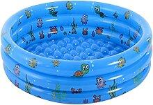 LVLUOKJ Kinder Mini Pool, Planschbecken Für