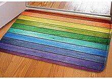 LVOE TTL Rustikale alte Scheune Holz Regenbogen