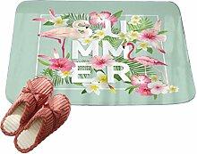 LvRaoo Fußmatte Praktische Schmutzfangmatte -