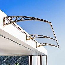 Lw Canopies Türvordach Vordach zurück Fenster