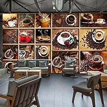 LWATML 3D Tapeten Fototapete Kaffeebohnen