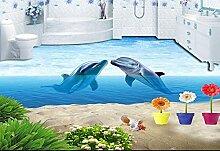 LWCX 3D-Bodenfliesen Wohnzimmer Wallpaper Pool