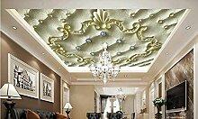LWCX 3D Wallpaper Europäischen Decke Badezimmer
