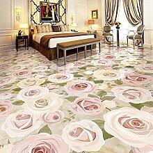LWCX Europäische Rosa Rose Blume Pflanze Boden
