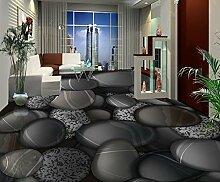 LWCX Jede Größe 3D Wandbild Tapeten Bodenbelag Badezimmer 3D Stock Stein Steine Wallpaper Für Wände 3D Für Boden Anpassen 200X140CM