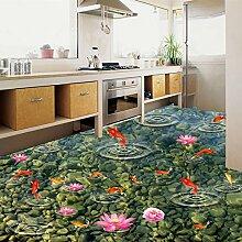 LWCX Pvc Selbstklebend Wasserdichte Boden Fliesen
