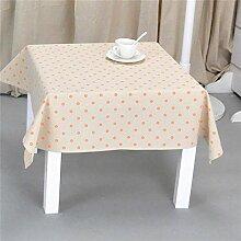 LWF Europäische Tischdecke Baumwolle quadratische