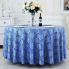 LWF Europäische Tischdecke Runde Tischdecke,