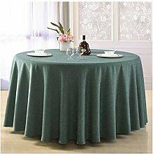 LWF Tischdecke, rund, für Esszimmer, Wohnzimmer,