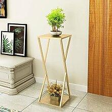 LWJJHJ Blumenständer Einzelregal Indoor Einfache