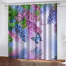LWXBJX Vorhang Blickdicht für Schlafzimmer