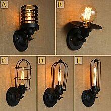 LWYJRBD Wandleuchte Wandlampe/110-220V Wandleuchte