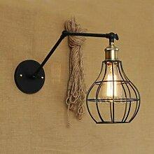 LWYJRBD Wandleuchte Wandlampe/arm Falten
