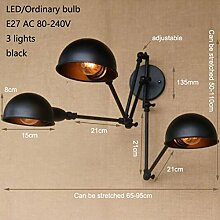 LWYJRBD Wandleuchte Wandlampe/Design schwarz
