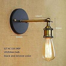 LWYJRBD Wandleuchte Wandlampe/Loft Industrial