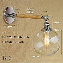 LWYJRBD Wandleuchte Wandlampe/LoftWandleuchte