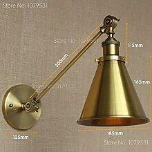 LWYJRBD Wandleuchte Wandlampe/Wandleuchte Bronze