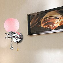 Lx.AZ.Kx E27 Outdoor Indoor Wandlampe Glasmalerei