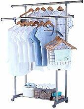LXD Kleiderbügel, Garderobenständer Trocknen