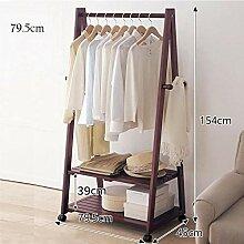 LXD Kleiderbügel, Kleiderständer, Bambus