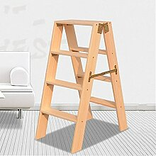LXDZXY Tritthocker, Massivholzleiter Indoor