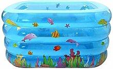 LXF Aufblasbare Badewanne Kinder Aufblasbare Schwimmbad Falten Aufblasbare Badewanne Reise tragbar