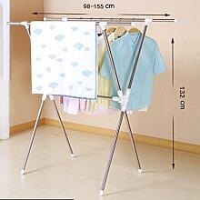 LXF Wäscheständer Wäschetrockner Einfache