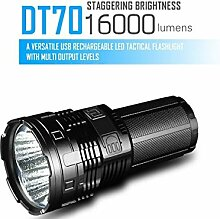 LXH/IMALENT DT70 wiederaufladbare Taschenlampe 4