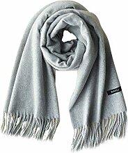 LXIANGP Fransen Schal, Männer und Frauen, warme