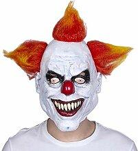 LXIANGP Latex Maske Clown Maske Halloween Party