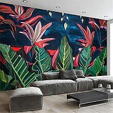 LXiFound Fototapete 3D Effekt -Blume Pflanze Farbe