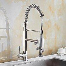 Lxj Armatur Küche Wasserhahn ziehen ausziehbare