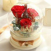 Lxj Ewige ewige Blume Weihnachten Geschenk Box